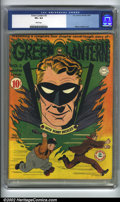 """Golden Age (1938-1955):Superhero, Green Lantern #2 (DC, 1941) CGC VF+ 8.5 White pages. The first book-length story to appear in Green Lantern, """"The Tycoon..."""
