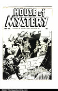 Golden Age (1938-1955):Horror, House of Mystery Ashcan NN (DC, 1951) Condition: FN+ This item is atrue piece of history. Ashcans were used to secure the ...