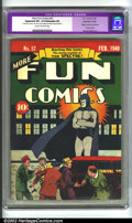 Golden Age (1938-1955):Superhero, More Fun Comics #52 (DC, 1940) CGC Apparent VF+ 8.5 Extensive (P) Cream to off-white pages. The importance of this book cann...