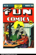 Golden Age (1938-1955):Superhero, More Fun Comics #53 (DC, 1940) Apparent FN- Possibly even more elusive than #52, this issue contains part two of the Spectr...
