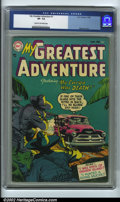 Golden Age (1938-1955):Horror, My Greatest Adventure #1 (DC, 1955) CGC VF- 7.5 Cream to off-whitepages. This is a fantastic first issue from a long runnin...