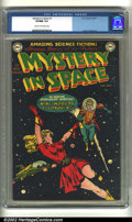 Golden Age (1938-1955):Science Fiction, Mystery in Space #1 (DC, 1951) CGC VF/NM 9.0 Cream to off-whitepages. This premiere issue hit the ground running with a ter...