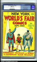 Golden Age (1938-1955):Superhero, New York World's Fair Comics #nn (1940 Edition) (DC, 1940) CGC FN/VF 7.0 Cream to off-white pages. One of the most important...