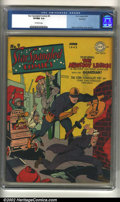 Golden Age (1938-1955):Superhero, Star Spangled Comics #9 Rockford pedigree (DC, 1942) CGC VF/NM 9.0Off-white pages. Simon and Kirby created a very interesti...