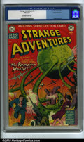 Golden Age (1938-1955):Science Fiction, Strange Adventures #6 White Mountain pedigree (DC, 1951) CGC VF-7.5 Off-white to white pages. Another superb example from t...