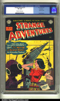 Golden Age (1938-1955):Science Fiction, Strange Adventures #7 Bethlehem pedigree (DC, 1951) CGC VF+ 8.5Off-white to white pages. This great giant ant cover feature...