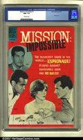 Silver Age (1956-1969):Adventure, Mission: Impossible #1 (Dell, 1967) CGC NM+ 9.6 Off-white pages. This photo cover premiere issue is in unparalleled conditio...