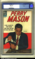 Silver Age (1956-1969):Mystery, Perry Mason #1 File copy (Dell, 1964) CGC NM+ 9.6 Off-white pages.Raymond Burr is Perry Mason on this photo cover first iss...