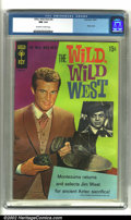 Silver Age (1956-1969):Adventure, Wild, Wild West #4 (Gold Key, 1968) CGC NM 9.4 Off-white to white pages. Jim West appears on the cover of this high-grade Go...