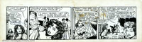 Ruth A. Roche and Matt Baker - Original Comic Strip Art for Flamingo (Phoenix Features, undated). Matt Baker is probably...
