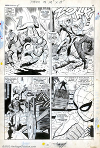 Larry Lieber and Mickey Demeo - Original Art for Amazing Spider-Man Annual #5, page 4 (Marvel, 1968). Sometimes you've j...