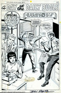 Original Comic Art:Splash Pages, John Romita, Sr. - Original Art Pin-Up Page for Amazing Spider-ManAnnual #5 (Marvel, 1968). Many major Spider-Man character...
