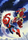 Original Comic Art:Covers, John Romita, Sr. - Original Cover Art for Spectacular Spider-Man #2(Marvel, 1968). One of the most recognized and beloved c...