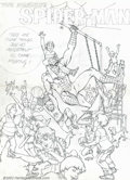 Original Comic Art:Covers, Artist Unknown - Original Art for Amazing Spider-Man SpecialtyCover - Prelim (Marvel). Large fully rendered prelim to a Spi...