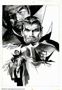 Gene Colan - Original Dracula Illustration (Marvel, undated). Regarded by many as one of the greatest comics ever publis...