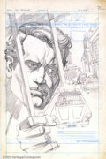 "Original Comic Art:Complete Story, Gil Kane - Original Art for ""The Prisoner"" - Complete 18-page story(Marvel, unpublished). An instant hit upon its debut in ..."