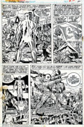 Original Comic Art:Panel Pages, Jack Kirby and Joe Sinnott - Original Art for The Silver SurferGraphic Novel, pages 80 and 85 (Marvel, 1978). Page 80 has t...