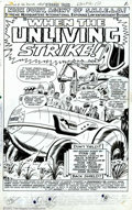 Original Comic Art:Splash Pages, Jack Kirby, Don Heck and Mike Esposito - Original Art for StrangeTales #146, page 1 (Marvel, 1966). Leave it to the cigar-c...