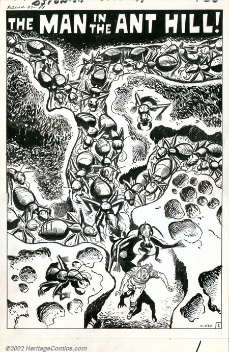 Jack Kirby, Don Heck, Bob Forgione, Steve Ditko - Original Art for Tales To Astonish #27, Complete Book (Marvel, 1961). It i...