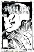 Original Comic Art:Covers, Luke McDonnell and Steve Mitchell - Original Cover Art for Iron Man#179. (Marvel, 1987). Ol' Shellhead is featured in this ...