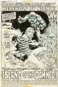 Original Comic Art:Splash Pages, Mike Ploog - Original Art Splash Page for Marvel Spotlight #4(Marvel, 1972). Exceptional title splash page to the fourth is...