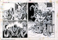 Original Comic Art:Panel Pages, Mike Ploog - Original Art for Werewolf by Night #14, Pages 2 and 3(Marvel, 1974). For a time in the early '70s, Marvel had ...