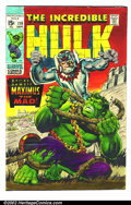 Original Comic Art:Covers, Marie Severin - Original Art Color Guide to Incredible Hulk #119(Marvel, 1969). This color Guide was hand colored by renown...