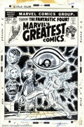 Original Comic Art:Covers, Jim Starlin and Joe Sinnott - Original Cover Art for Marvel'sGreatest Comics #41 (Marvel, 1972). The Human Torch is the foc...