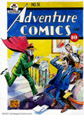 Original Comic Art:Covers, Creig Flessel - Original Cover Art Re-creation for Adventure Comics#51 (DC, 1940). This fantastic, full color image was re-...