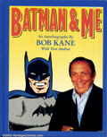 Original Comic Art:Sketches, Bob Kane - Batman and Me Ltd. Edition Hardback w/Sketch (Eclipse Books, 1989). Here is an incredible limited edition book wi...