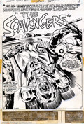 "Original Comic Art:Complete Story, Jack Kirby - Original Art for The Forever People #10, - Complete 22-page story ""The Scavengers"" (DC, 1972). From the Firepit..."