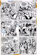 Original Comic Art:Panel Pages, Jack Kirby and Mike Royer - Original Art for Superman's Pal Jimmy Olsen #147, page 28 (DC, 1972). Superman appears in every ...