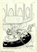 Original Comic Art:Splash Pages, Sheldon Mayer - Original Sugar and Spike Art for Best of DC #41(DC, 1983). One of the most beloved comics of DC's Silver Ag...