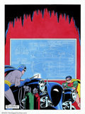 Original Comic Art:Covers, Dick Sprang - Original Art Cover Re-creation for Detective Comics#156 (DC, 1990). A fantastic re-creation rendered by one o...