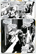 Original Comic Art:Panel Pages, Bernie Wrightson - Original Art for Swamp Thing #1, page 12 (DC,1972). This masterful page is a presentation piece for sure...