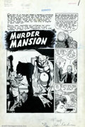 Original Comic Art:Splash Pages, Alex Toth - Original Art for Adventures Into Darkness #5, page ...
