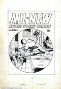 Original Comic Art:Covers, Unknown Artist - Original Cover Art for All New Comics #2 (HarveyPublications). This Cover to All New Comics #2 feature...