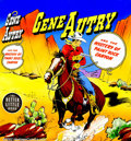 "Original Comic Art:Covers, Unknown Artist - Original Cover Art for Big Little Book, ""GeneAutry and the Mystery of Paint Rock Canyon"" (Whitman Publishing..."