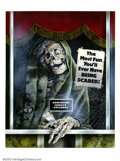 Original Comic Art:Paintings, Joann - Original Art Painting for Creepshow Movie One-Sheet. Thisis the original painting that was used in the one-sheet mo...