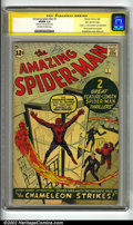 Silver Age (1956-1969):Superhero, The Amazing Spider-Man #1 Stan Lee File Copy (Marvel, 1963) CGCVG/FN 5.0 Off-white to white pages. Signature Series. Stan L...