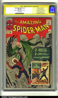 Silver Age (1956-1969):Superhero, The Amazing Spider-Man #2 Stan Lee File Copy (Marvel, 1963) CGC VG4.0 Off-white pages. Signature Series. This fantastic Sta...