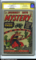 Silver Age (1956-1969):Superhero, Journey into Mystery #83 Stan Lee File Copy (Marvel, 1962) VG- 3.5Off-white to white pages. Signature Series. Origin and fi...