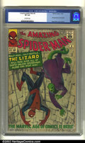Silver Age (1956-1969):Superhero, The Amazing Spider-Man #6 (Marvel, 1963) CGC VF 8.0 Off-whitepages. The Lizard has been a nemesis of Spider-Man for almost ...