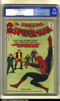 Silver Age (1956-1969):Superhero, The Amazing Spider-Man #10 (Marvel, 1964) CGC VF 8.0 Cream tooff-white pages. Spidey is now the hottest character in all of...