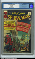Silver Age (1956-1969):Superhero, The Amazing Spider-Man #18 Edenwald pedigree (Marvel, 1964) CGC NM9.4 Off-white pages. This book features the first appeara...