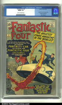 Fantastic Four #3 (Marvel, 1962) CGC FN/VF 7.0 Cream to off-white pages. In this historic issue, the Fantastic Four firs...