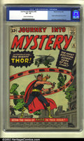 Silver Age (1956-1969):Superhero, Journey into Mystery #83 (Marvel, 1962) CGC VF- 7.5 Cream tooff-white pages. The first appearance of Thor just does not tur...