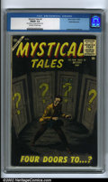 Silver Age (1956-1969):Horror, Mystical Tales #3 White Mountain pedigree (Atlas, 1956) CGC FN/VF7.0 Off-white to white pages. A cool Atlas horror book fea...