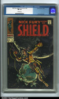 Silver Age (1956-1969):Superhero, Nick Fury, Agent of SHIELD #6 Edenwald pedigree (Marvel, 1968) CGC NM 9.4 Off-white pages. Among the crowning achievements o...