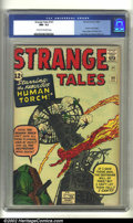 Silver Age (1956-1969):Superhero, Strange Tales #101 (Marvel, 1962) CGC NM- 9.2 Cream to off-white pages. CGC has graded only one copy of this book higher, ma...